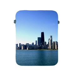 Chicago Skyline Apple Ipad 2/3/4 Protective Soft Case by canvasngiftshop