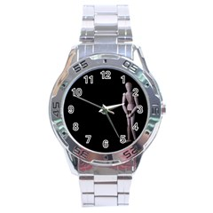 I Have To Go Stainless Steel Watch (men s) by hlehnerer
