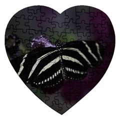 Butterfly 059 001 Jigsaw Puzzle (heart) by pictureperfectphotography
