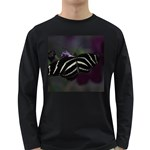 Butterfly 059 001 Mens' Long Sleeve T-shirt (Dark Colored) Front