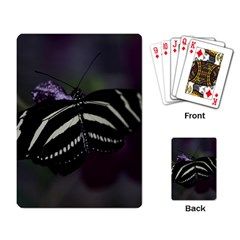 Butterfly 059 001 Playing Cards Single Design by pictureperfectphotography