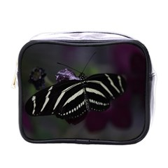 Butterfly 059 001 Mini Travel Toiletry Bag (one Side) by pictureperfectphotography