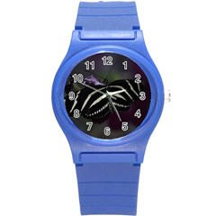 Butterfly 059 001 Plastic Sport Watch (small) by pictureperfectphotography