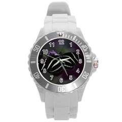 Butterfly 059 001 Plastic Sport Watch (large) by pictureperfectphotography