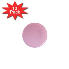 Puce To Pink Lace Gradient 1  Mini Button Magnet (10 Pack)