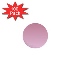 Puce To Pink Lace Gradient 1  Mini Button (100 Pack)