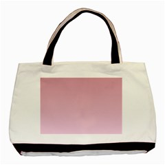 Puce To Pink Lace Gradient Classic Tote Bag by BestCustomGiftsForYou