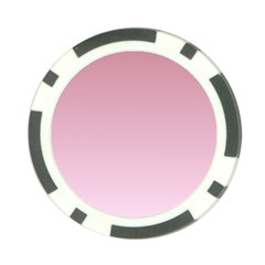 Puce To Pink Lace Gradient Poker Chip by BestCustomGiftsForYou