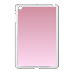 Puce To Pink Lace Gradient Apple Ipad Mini Case (white)
