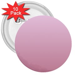 Pink Lace To Puce Gradient 3  Button (10 Pack) by BestCustomGiftsForYou