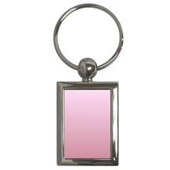 Pink Lace To Puce Gradient Key Chain (rectangle)