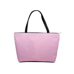 Pink Lace To Puce Gradient Large Shoulder Bag