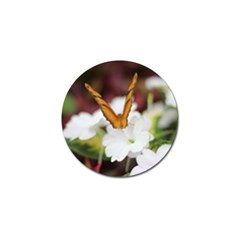 Butterfly 159 Golf Ball Marker by pictureperfectphotography