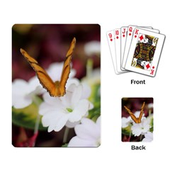 Butterfly 159 Playing Cards Single Design by pictureperfectphotography