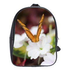 Butterfly 159 School Bag (large) by pictureperfectphotography