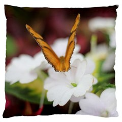Butterfly 159 Large Cushion Case (one Side) by pictureperfectphotography
