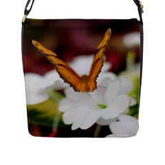 Butterfly 159 Flap Closure Messenger Bag (large) by pictureperfectphotography