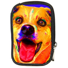Happy Dog Compact Camera Leather Case