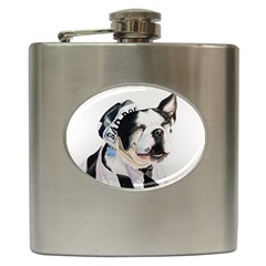 Bad Dog Hip Flask by cutepetshop