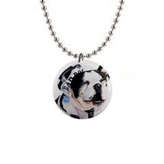 Bad Dog Button Necklace