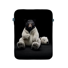 Bear In Mask Apple Ipad 2/3/4 Protective Soft Case