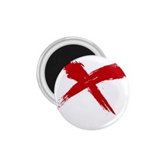 Red X 1 75  Button Magnet