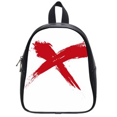 Red X School Bag (small)