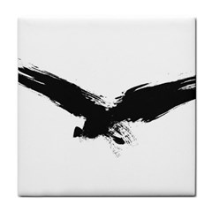 Grunge Bird Ceramic Tile by magann