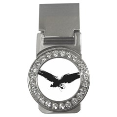 Grunge Bird Money Clip (cz) by magann