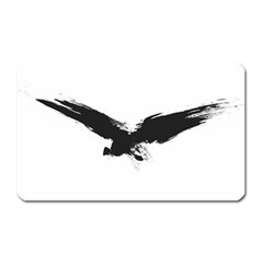Grunge Bird Magnet (rectangular) by magann