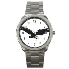 Grunge Bird Sport Metal Watch
