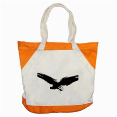 Grunge Bird Accent Tote Bag by magann