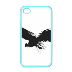 Grunge Bird Apple Iphone 4 Case (color) by magann