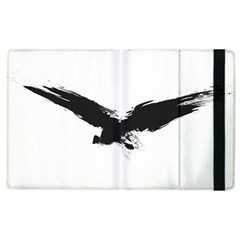 Grunge Bird Apple Ipad 2 Flip Case