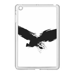 Grunge Bird Apple Ipad Mini Case (white) by magann