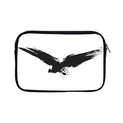 Grunge Bird Apple Ipad Mini Zipper Case by magann