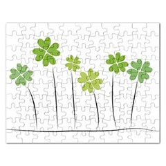 Clover Jigsaw Puzzle (rectangle)