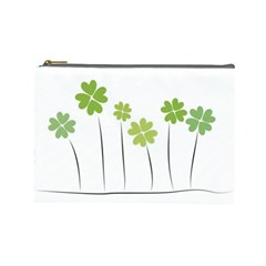 Clover Cosmetic Bag (large) by magann