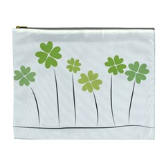 Clover Cosmetic Bag (xl) by magann