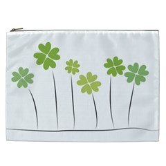 Clover Cosmetic Bag (xxl) by magann