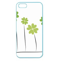 Clover Apple Seamless Iphone 5 Case (color)