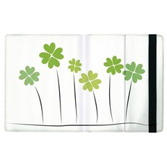 Clover Apple Ipad 3/4 Flip Case by magann