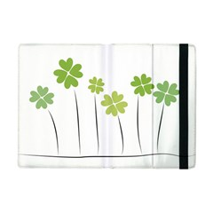 Clover Apple Ipad Mini Flip Case by magann