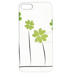 Clover Apple Iphone 5 Hardshell Case With Stand by magann