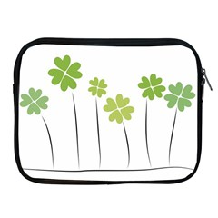 Clover Apple Ipad 2/3/4 Zipper Case by magann