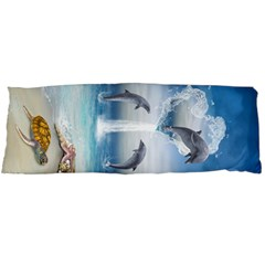 The Heart Of The Dolphins Body Pillow Case Dakimakura (two Sides)