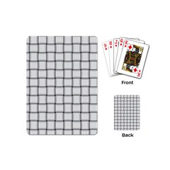 White Weave Playing Cards (mini)