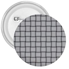 Gray Weave 3  Button by BestCustomGiftsForYou