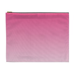 French Rose To Piggy Pink Gradient Cosmetic Bag (xl) by BestCustomGiftsForYou