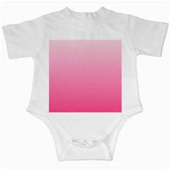 Piggy Pink To French Rose Gradient Infant Creeper